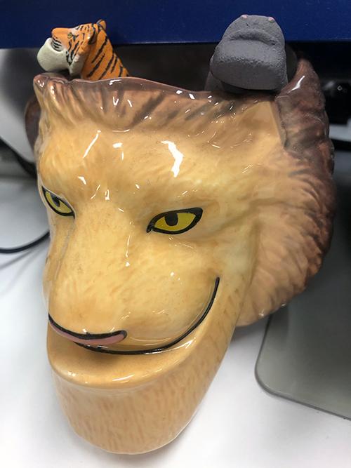 シャクレプラネット(ライオン)の写真